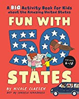 Fun with 50 States: A Big Activity Book for Kids about the Amazing United States