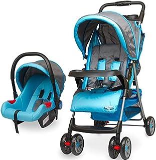 مجموعة نظام السفر انترناشونال للأطفال عربية انترناشونال مع كرسى السيارة - لون لبني