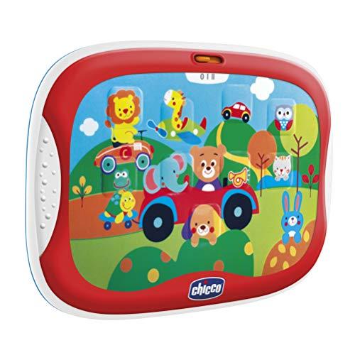 Chicco Gioco Tablet Degli Animali, Elettronico Parlante Con Contenuti Divertenti Sugli Animali, Batterie Incluse, 12-36 Mesi, Multicolore