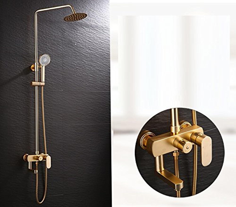 TS-nslixuan-Dusche-Mischer-Set Duschgarnitur Set Duschsystem Dusche Sprinkler - Anzug Mit Kalten Und Warmen Anpassung Duschkopf Kann Sich Ein Wasser Sparen Sprinkler