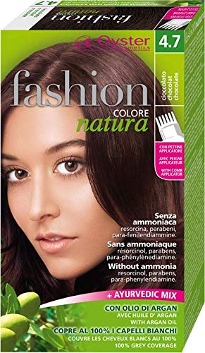 FASHION NATURA Colore Capelli senza ammoniaca cioccolato 4.7