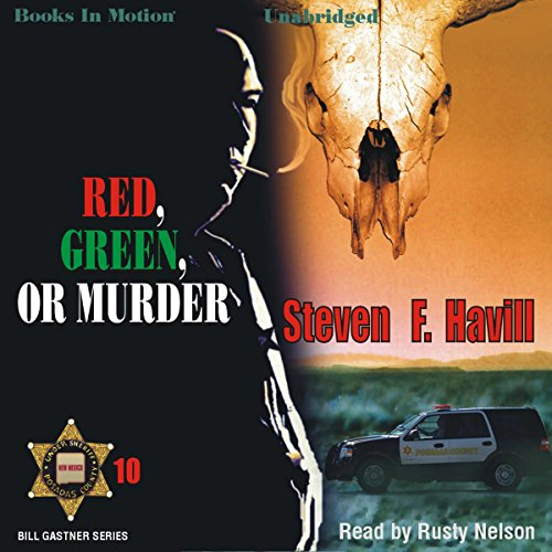 Red, Green, or Murder audiobook cover art
