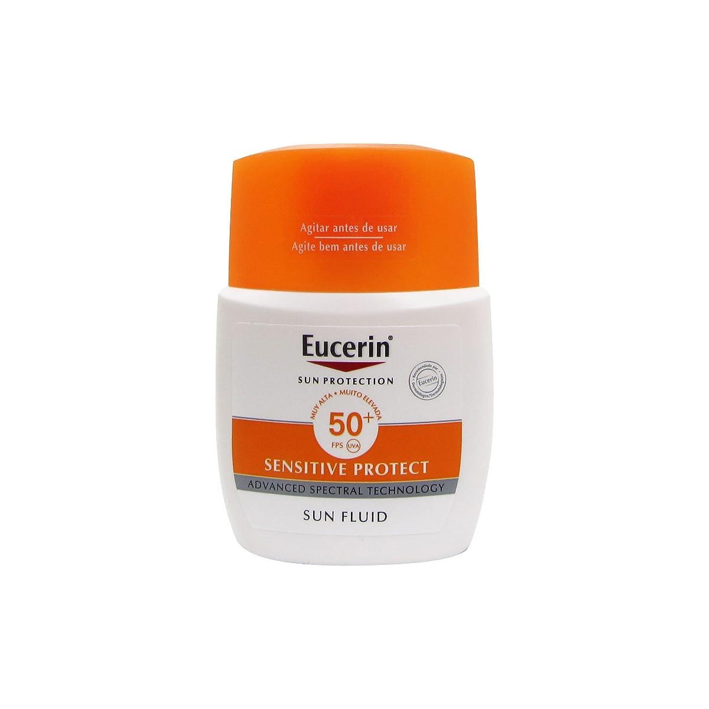 平和的期限切れ襟Eucerin Sun Mattifying Fluid Spf50+ 50ml [並行輸入品]