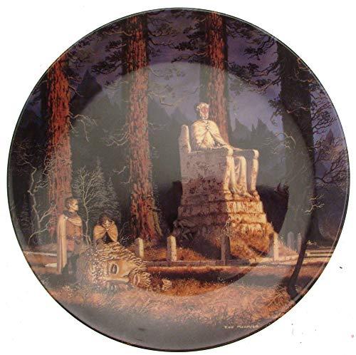 Wedgwood Seigneur des Anneaux-Plaque de seconde série aux carrefours-CP1016