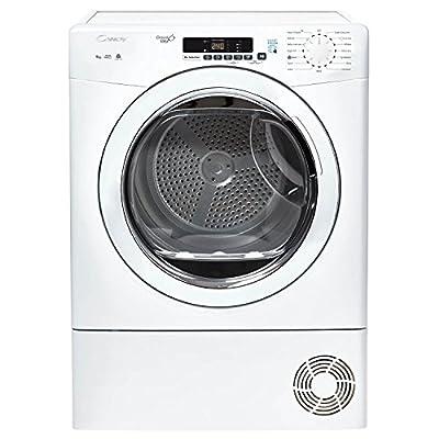 Candy GVSC9DG-80 9kg Freestanding Condenser Tumble Dryer - White