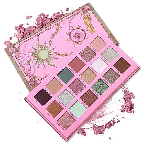 Onewell 18-Farben Shimmer Matte Lidschatten-Make-up Hochpigmentiertes Lidschatten-Leicht zu mischen...