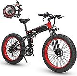 Bicicleta electrica Bicicleta eléctrica plegable para adultos, bicicleta / bicicleta de montaña de 26