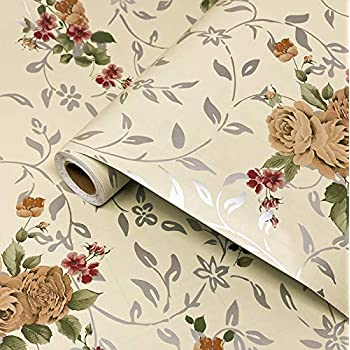 Buy Larbenz Wonderful Flower Pattern Wallpaper Murals Are Suitable For Home Wall Decoration Hotel Wall Decoration 45 Cm By 300 Cm Living Room Bedroom Kitchen Wallpaper Online At Low Prices In India