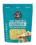 GOOD PLANeT Foods, Vegan, Plant-Based Mozzarella Cheese Shreds, Soy Free, Dairy Free, Gluten Free, Allergen Friendly, Non-GMO, 7 Oz. (Pack of 6)