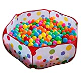 yunli Children Tent Game Ball Pits Pool Foldable Children Ball Pool Outdoor Fun Sports Educational Toy