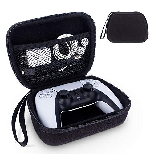 Marvelights Tasche für PS5 Wireless Controller, stoßfeste EVA-Schutzhülle Für Playstation 5, tragbare Reiseschutzabdeckung Zubehör