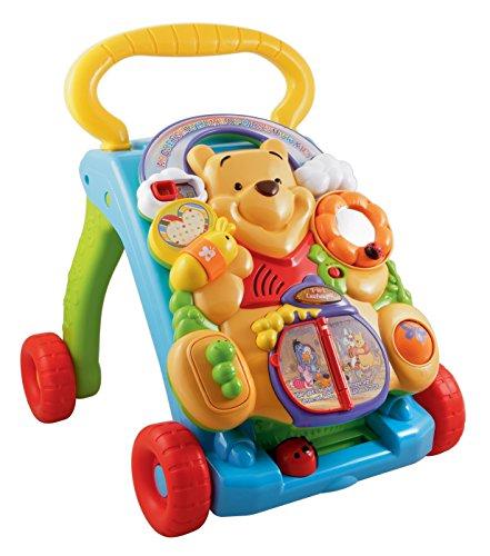 VTech Baby 80-114304 - Winnie Puuh 2-in-1 Laufwagen, Normalverpackung, Bunt (Winnie Puuh)