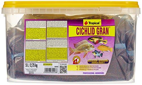 TROPICAL Cichlid Gran Nourriture pour Aquariophilie 5 L