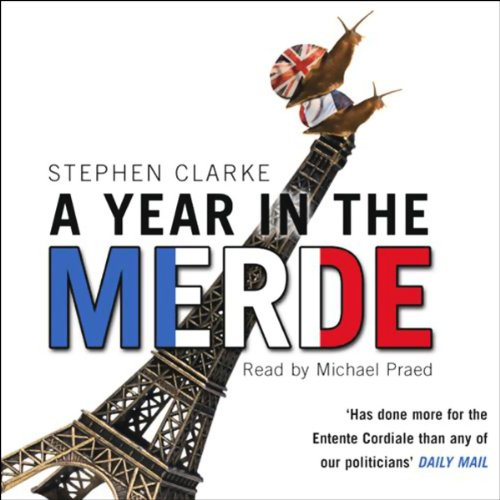A Year in the Merde audiobook cover art