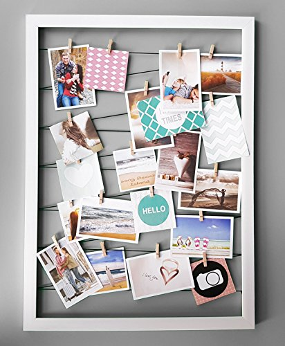 Spetebo Fotohalter 75x55 cm weiß Bild