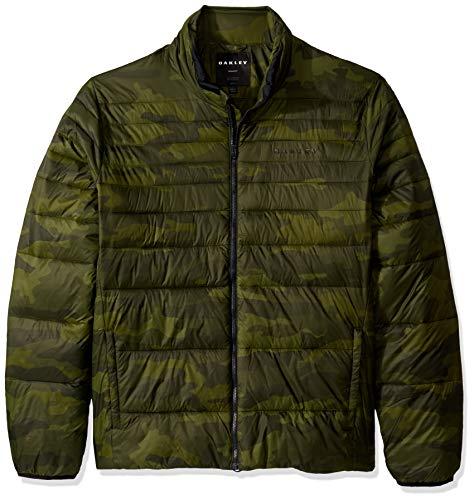 Oakley Mens Men's Down Bomber Jacket, CORE CAMO, M