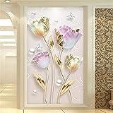 LucaSng DIY 5d Diamante pintura, 5D Diamond Painting Familia agujeros lleno de cristales brillantes bordado cruz arte artesanía hogar decoración (60 x 90 cm)