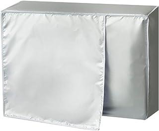1.5p: 80 宽28 高54 Ymiko Copertura del condizionatore dAria Copertura in Poliestere AC per Protezione Esterna Anti-Polvere Anti-Neve Impermeabile Resistente al Sole per casa 3 Dimensioni