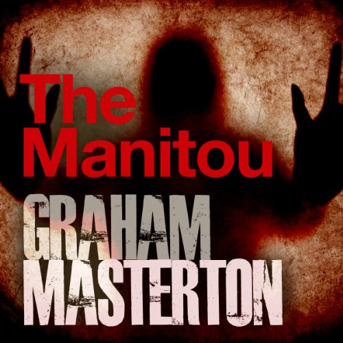 The Manitou audiobook cover art