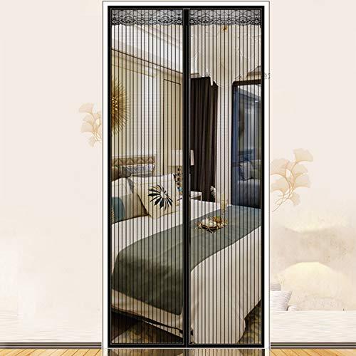 FR&RF Moskito-Abwehr-Magnet-Gaze, Tür-Gitter, Fliegengitter, Haustierfreundlich, magnetisch, 110 x 220 cm