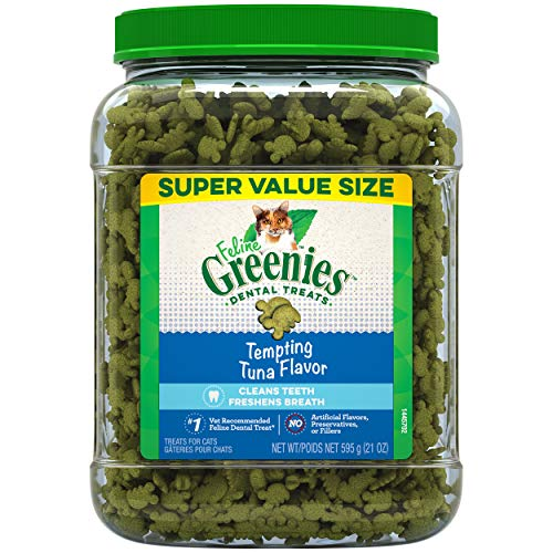 Greenies Feline Cat Treats 21oz Tub Now $5.09 (Was $18.99)