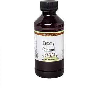 LorAnn Naturals Super Strength Creamy Caramel Flavor, 4 ounce bottle