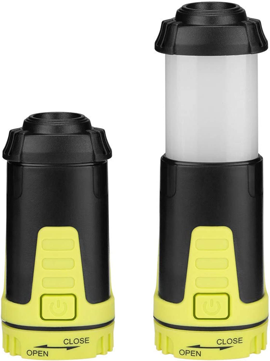 LED Portable Camping Lantern Camping ABS Dry Battery Power Working Light Magnetic Lamp Light Stretch Working Night Light