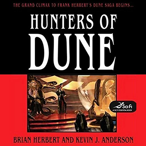 Hunters of Dune  audiobook cover art