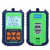 Portable identifie avec précision le compteur de puissance optique, le détecteur de câble, le test d'atténuation de la lumière sur fibre Test de puissance optique pour le test de la source
