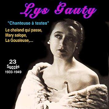 Lys gauty - le chaland qui passe (23 Succès (1933-1949))