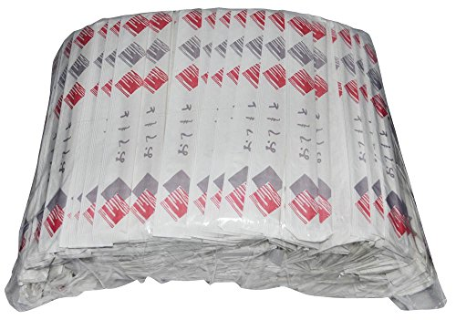 業務用 袋入り 割り箸 紙 完封 和風 白樺 元禄箸 500膳 PK-005