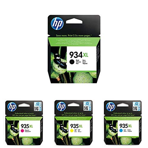 HP 934Xl/935Xl Pack de 4...