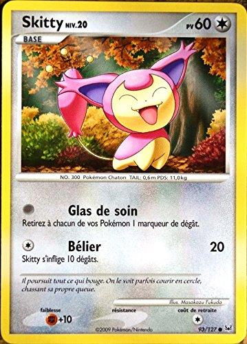 carte Pokémon 93/127 Skitty 60 PV Série Platine NEUF FR