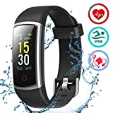 LATEC Orologio Fitness Tracker Smartwatch Android iOS Cardiofrequenzimetro...