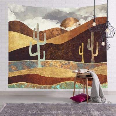KHKJ Decoración del hogar Pintura al óleo Tapiz Colgante de Pared Tela Pared Sala de Estar Fondo Mural Yoga Estera de Playa A5 95x73 cm