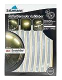 Salzmann 3M Scotchlite Reflektierende Aufkleber für Fahrradfelgen (32 Stück)