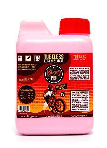 Biking Pro liquido tubeless 2L antipinchazos. Gama Xtreme Sealant.
