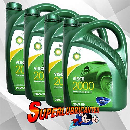 BP Visco 2000 20W50 4x5L(20Litros)