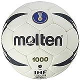 MOLTEN IHF Approved Club/School - Pelota de Balonmano, Color Beige, Talla 1 cm