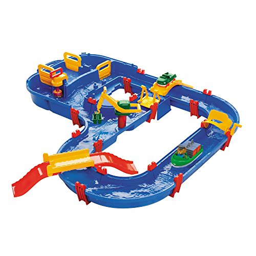 Aquaplay 8700001528 - Wasserbahn Set