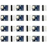 Micro USB Type Interface Power Adapter Board 5V line Module, Female Micro USB to DIP 5 pin Board 2.54mm (12 Packs)