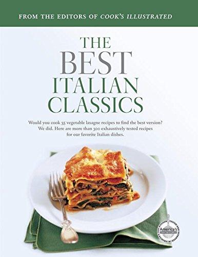 Italian Classics (Best Recipe)