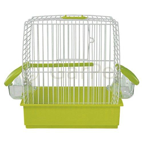 GarPet Vogelkäfig Transport Ausstellung Box Käfig mit Zubehör Wellensittich Weekend