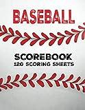 Baseball Scorebook: 120 Scoring ...