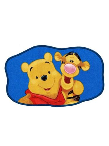 ABC Tappeti Tapis Winnie & Tiger 50 x 80 cm Azul/Beige