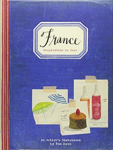Price comparison product image France: Inspiration du Jour: (Gifts for Francophiles,  Traveling Books,  Paris Illustrations)