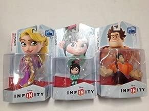 Disney Infinity Figures Wreck It Ralph Vanellope & Rapunzel