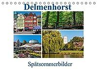 Delmenhorst Spaetsommerbilder (Tischkalender 2022 DIN A5 quer): Viel Sonne, viel Natur, viel Gruen - die Stadt Delmenhorst und ihre schoenen Seiten (Monatskalender, 14 Seiten )