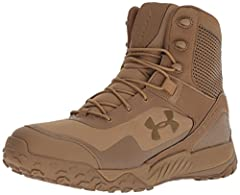 Lightweight, durable synthetic leather & updated textile upper UA ClutchFit ankle support system contours & provides supports where you need it most TPU toe cap for added protection Welded PU film surrounds the perimeter of the boot for abrasion resi...