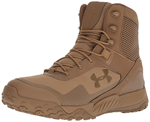 Under Armour Valsetz RTS 1.5, Chaussures de Randonnée Basses Homme, Marron (Coyote Brown (200), 43 EU
